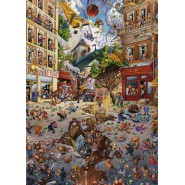 LOUP Jean-Jaques APOCALYPSE Cartoon Puzzle 2000 Pieces Original HEYE 69x97cm