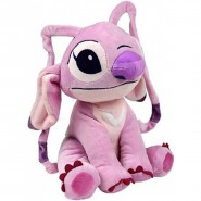 Peluche 20cm ANGEL Aliena ROSA amica STITCH Originale DISNEY Lilo Stich