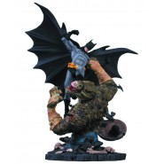 Statua Resina BATMAN Contro KILLER CROC 41cm Originale DC COLLECTIBLES