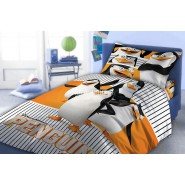 Cotton DUVET COVER Bed SET 4 Characters PENGUINS OF MADAGASCAR Original