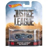 JUSTICE LEAGUE Modellino Auto BATMOBILE Batman 1:64 Hot Wheels MATTEL DWJ80