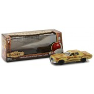 THE BIG LEBOWSKI Model FORD GRAN TORINO 1973 Scale 1/43 DieCast Greenlight
