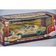 CHASE Version Green Wheeels THE BIG LEBOWSKI Model FORD GRAN TORINO 1973 Scale 1/43 DieCast Greenlight
