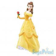 DISNEY Figura Statua BELLE 21cm La Bella E La Bestia SEGA Super Premium SPM Japan