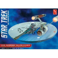 STAR TREK Modellino Kit ENTERPRISE NCC-1701 CUTAWAY Scala 1:537 AMT 891