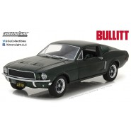 Model Car 1968 FORD MUSTANG GT Scale 1:24 from BULLIT Greenlight STEVE MCQUEEN