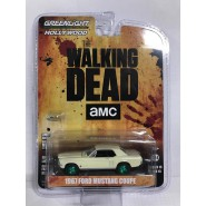 THE WALKING DEAD Modellino 1967 FORD MUSTANG COUPE Ruote Verdi CHASE CAR 1/64 DieCast GREENLIGHT Collectibles