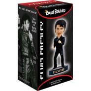 Figura Statuetta 20cm ELVIS PRESLEY '68 COMEBACK SPECIAL Bobble Head ROYAL BOBBLES