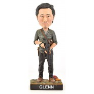 Figura Statuetta 20cm GLENN RHEE da THE WALKING DEAD Bobble Head ROYAL BOBBLES