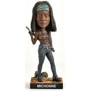 Figure Statue 20cm MICHONNE from THE WALKING DEAD Bobble Head ROYAL BOBBLES