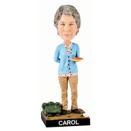 Figura Statuetta 20cm CAROL PELETIER da THE WALKING DEAD Bobble Head ROYAL BOBBLES