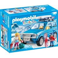 Playset SUV SKIER CAR Playmobil 9281 Family Fun