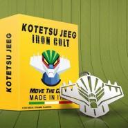 Ciondolo Metallo TESTA di JEEG ROBOT 7cm IRON CULT Acciaio Ufficiale Originale GO NAGAI