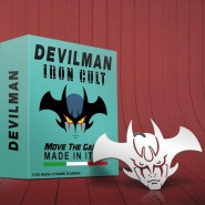 Metal PENDANT Head DEVILMAN 8cm IRON CULT Original OFFICIAL Go Nagai