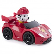 MARSHALL Racer Car ROADSTER Serie RACERS Vehicle 10cm With Figure PAW PATROL Original Spin Master