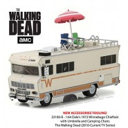 Version with EXTRAS DieCast Model WINNEBAGO CHIEFTAIN The Walking Dead Scale 1/64 GREENLIGHT