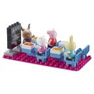 PEPPA PIG Playset Gioco Costruzioni Cubetti CLASSE Tipo Lego ORIGINALE Character