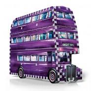 Puzzle 3D THE KNIGHT BUS Autobus Magico HARRY POTTER  Howgarts 280 PEZZI Ufficiale WREBBIT
