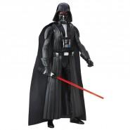 DARTH VADER Figura Action ELETTRONICA 30cm Star Wars ELECTRONIC DUEL Hasbro B7284