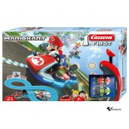Electric SLOT CAR Racing MARIO KART Mario VS Yoshi 2,40 Mt CARRERA FIRST