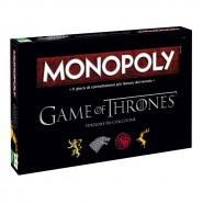 MONOPOLY Versione Speciale TRONO DI SPACE Edizione IN ITALIANO Game Of Thrones MONOPOLI