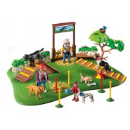 Playset SUPER Set DOG TRAINING PARK Playmobil 6145 City Life
