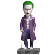 THE JOKER Figura Statua Resina 20cm HEAD KNOCKER da SUICIDE SQUAD Originale NECA