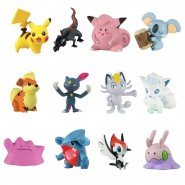POKEMON Box 12 FIGURE 4cm WAVE 4 Edizione Speciale XL MULTI PACK Originali TOMY