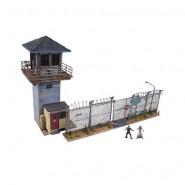 THE WALKING DEAD Playset Costruzioni Prigione PRISON TOWER and GATE 620 Pezzi McFarlane