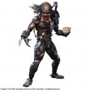 PREDATOR Action Figure 28cm Deluxe KAI PLAY ARTS Square Enix