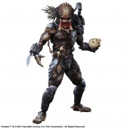 PREDATOR Figura Action 28cm Deluxe KAI PLAY ARTS Square Enix