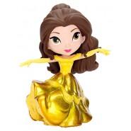 BELLE Abito Giallo Ballo Principessa Figura 10cm METALLO Bella Bestia Originale JADA Toys DISNEY