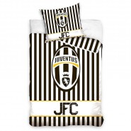 Official BED SET Duvet Cover JUVENTUS Juve JFC EMBLEM Cotton ORIGINAL