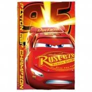 Blanket Plaid CARS 3 LIGHTINING McQUEEN Piston Cup 150x100cm ORIGINAL