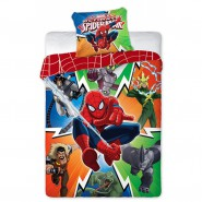 SPIDER MAN and his ENEMIES Cotton BED Set DUVET COVER 160x200cm Original MARVEL