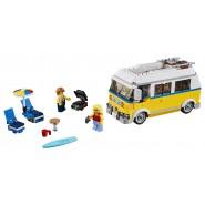 Costruzioni Playset SURFER VAN Camper GIALLO Lego 31079 Creator