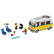 Building Playset YELLOW SURFER BUS Lego 31079 Creator