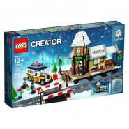 STAZIONE Treno VILLAGGIO INVERNALE Playset Costruzioni LEGO Creator Expert 10259