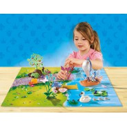 Playset LAGO DELLE FATE Mappa Gioco Play Map PLAYMOBIL 9330