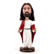 ROYAL BOBBLES Figura JESUS CHRIST Gesù Cristo 20cm BOBBLE HEAD Originale