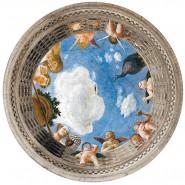 ROUND PUZZLE 500 Pieces MANTEGNA Affreschi Palazzo Ducale Mantova Clementoni 30321