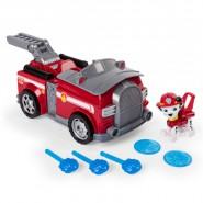 PAW PATROL Playset Veicolo MARSHALL Trasformabile FLIP AND FLY Originale SPIN MASTER