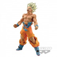 DRAGONBALL Figure Statue 18cm SON GOKU Super Saiyan GOD Banpresto SUPER WARRIORS Vol. 4 DXF z gt