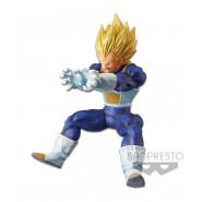 DRAGONBALL Z Figura Statua 16cm VEGETA Super Saiyan FINAL FLASH Banpresto SUPER ELITE