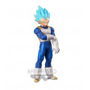 DRAGONBALL Figura Statua 18cm VEGETA Super Saiyan GOD Banpresto SUPER WARRIORS Vol. 5 DXF z gt