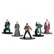 HARRY POTTER Set 5 Mini Figures METAL 4cm SET B - HARRY DUMBLEDORE DRACO McGONAGALL FLINT Original JADA Toys NANO Metalfigs