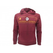HARRY POTTER Hooded Sweatshirt PLATFORM 9 3/4 Hogwarts Express OFFICIAL Warner Bros HOODIE