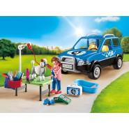 Playset PET GROOMING Mobile UNIT Veterinary PLAYMOBIL 9278