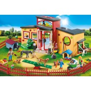 Playset UNITA MOBILE DI CURA DEI CANI Veterinario City File PLAYMOBIL 9278