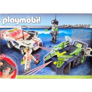 Playset AUTO DEL FUTURO R/C Luce TOP AGENTS Playmobil 5088